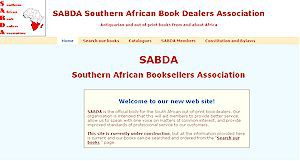 SABDA Southern African Bookdealers Association