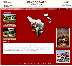 Toscana Casa vacation rentals in Tuscany