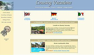 Country vacation in Tuscany, country vacations in Chianti, winery vacation rentals, farm house holidays